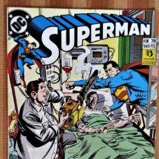 Cómics: SUPERMAN - NUM. 79 - EL BROMISTA: ¡AL FILO DE LA COMEDIA! - EDICIONES ZINCO - 1989. Lote 221715127