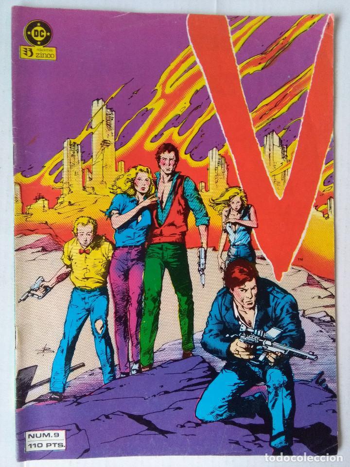 V LOS VISITANTES 9 (Tebeos y Comics - Zinco - Otros)