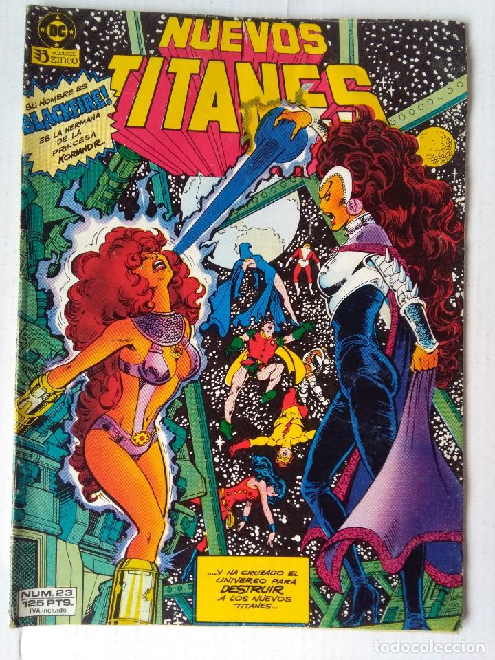 LOS NUEVOS TITANES 23 PRIMER VOLUMEN 1984 (Tebeos y Comics - Zinco - Nuevos Titanes)