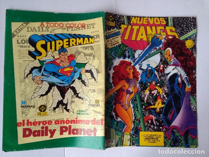 Cómics: LOS NUEVOS TITANES 23 PRIMER VOLUMEN 1984 - Foto 2 - 221779108