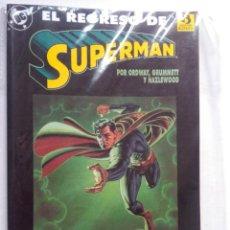 Cómics: EL REGRESO DE SUPERMAN-EL HOMBRE DE ACERO LUCHA POR SU VIDA. Lote 221786721