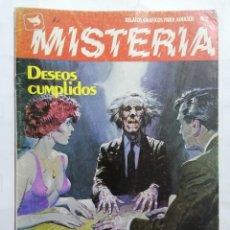 Cómics: MISTERIA Nº 2 - RELATOS GRAFICOS PARA ADULTOS. Lote 221793901
