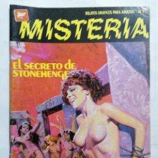 Cómics: MISTERIA Nº 3 - RELATOS GRAFICOS PARA ADULTOS. Lote 221794305
