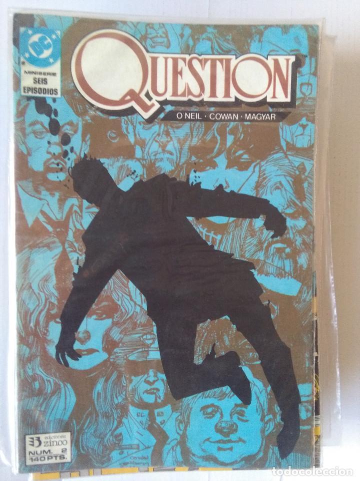 Cómics: QUESTION COMPLETA (1988-1991) 36 NUMEROS (FALTANDO EL 6-17-29) - Foto 4 - 221795796