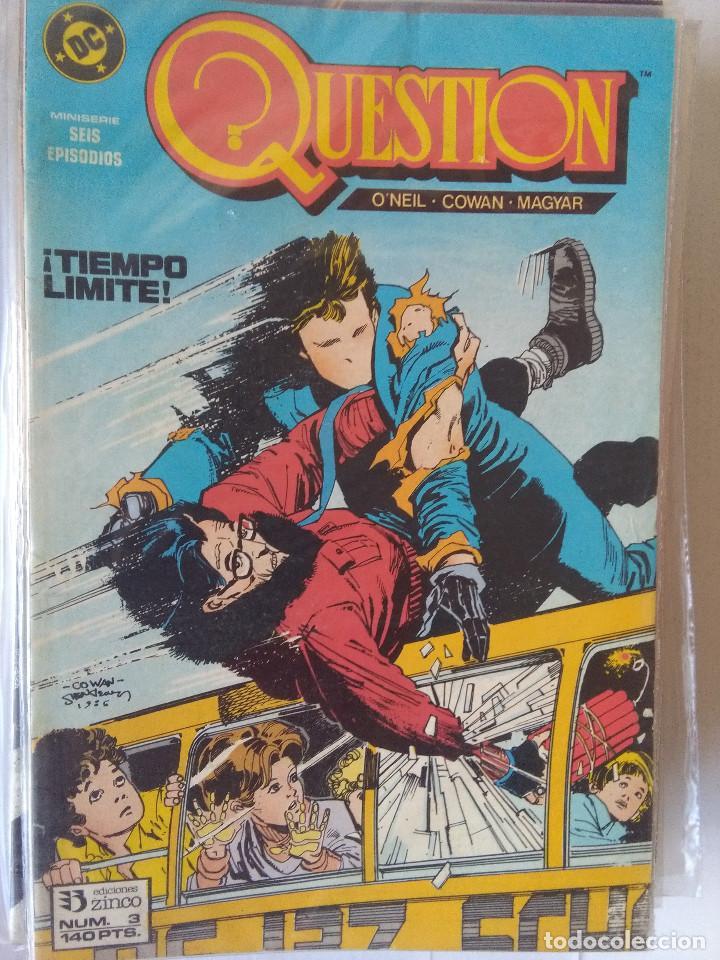 Cómics: QUESTION COMPLETA (1988-1991) 36 NUMEROS (FALTANDO EL 6-17-29) - Foto 5 - 221795796