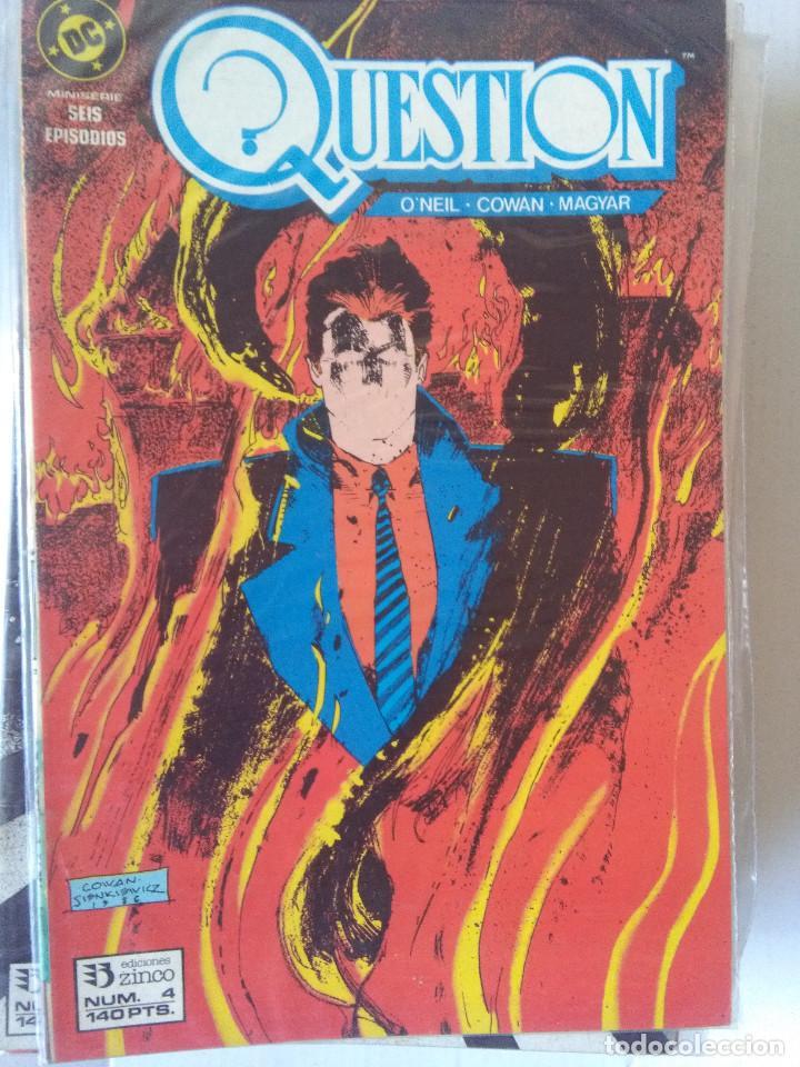 Cómics: QUESTION COMPLETA (1988-1991) 36 NUMEROS (FALTANDO EL 6-17-29) - Foto 6 - 221795796