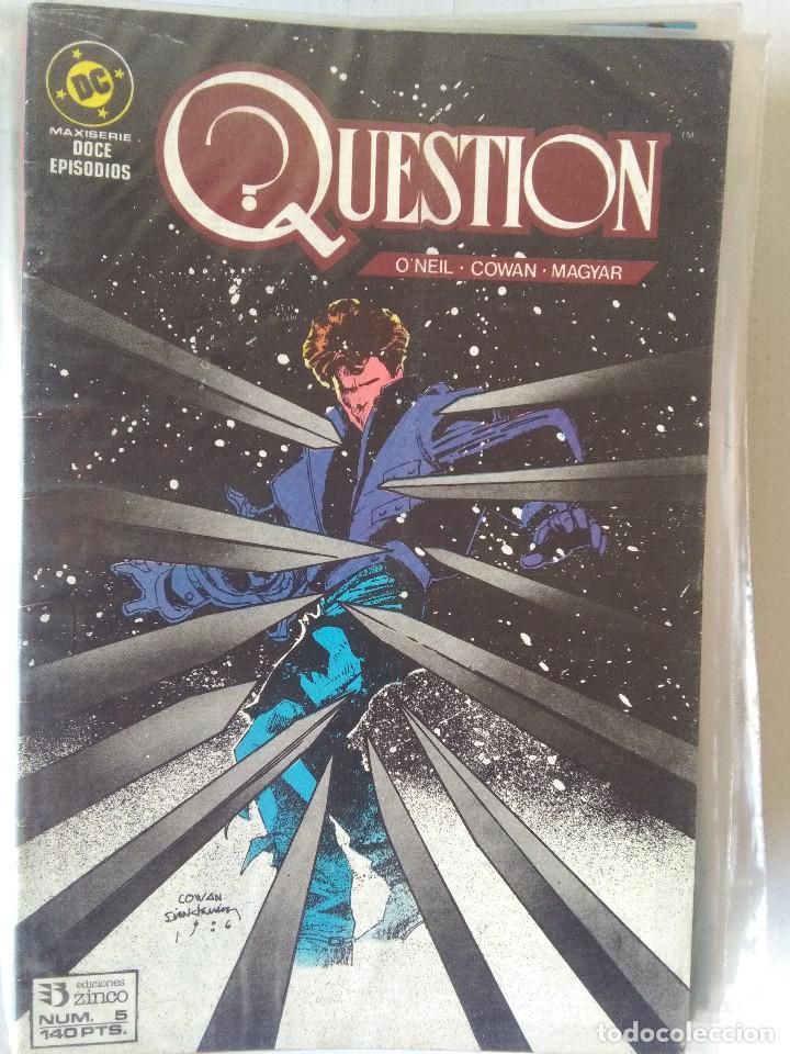 Cómics: QUESTION COMPLETA (1988-1991) 36 NUMEROS (FALTANDO EL 6-17-29) - Foto 7 - 221795796