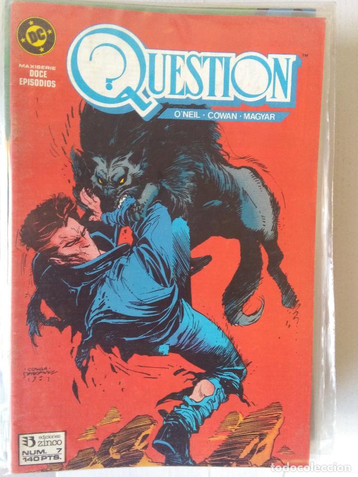Cómics: QUESTION COMPLETA (1988-1991) 36 NUMEROS (FALTANDO EL 6-17-29) - Foto 8 - 221795796