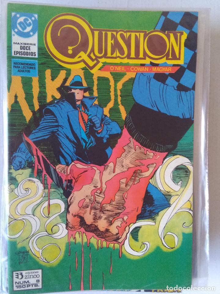 Cómics: QUESTION COMPLETA (1988-1991) 36 NUMEROS (FALTANDO EL 6-17-29) - Foto 9 - 221795796