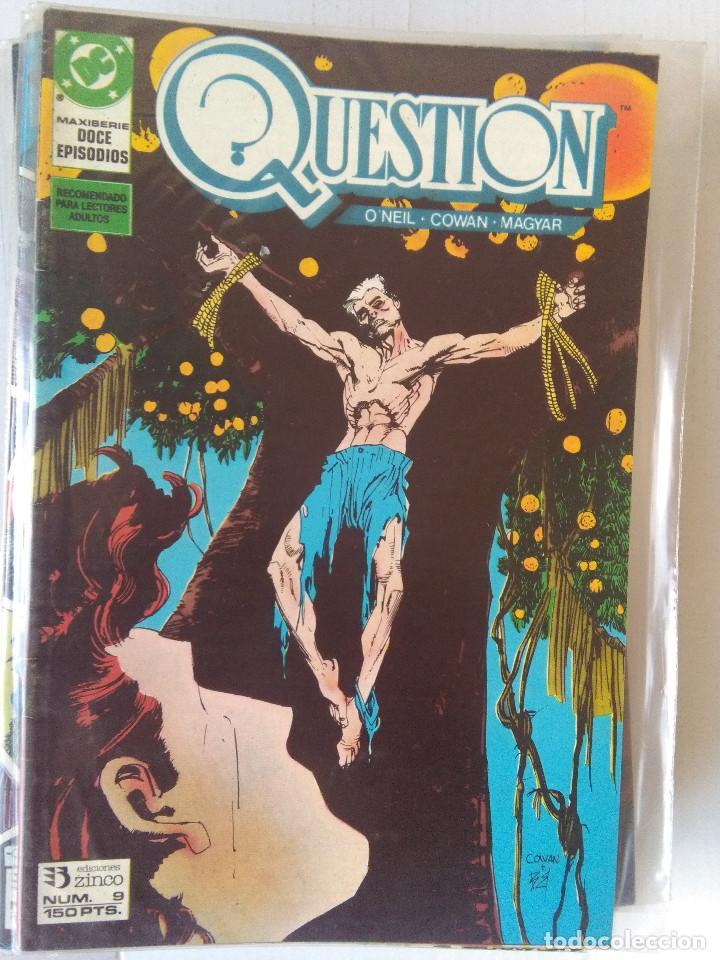 Cómics: QUESTION COMPLETA (1988-1991) 36 NUMEROS (FALTANDO EL 6-17-29) - Foto 10 - 221795796