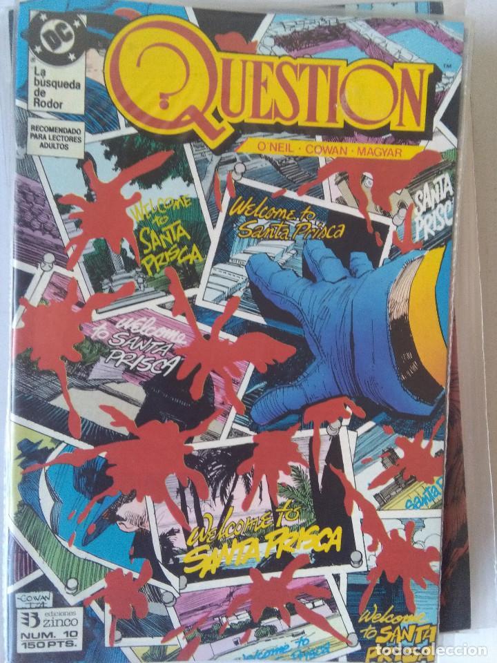 Cómics: QUESTION COMPLETA (1988-1991) 36 NUMEROS (FALTANDO EL 6-17-29) - Foto 11 - 221795796