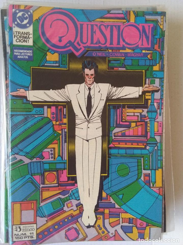 Cómics: QUESTION COMPLETA (1988-1991) 36 NUMEROS (FALTANDO EL 6-17-29) - Foto 12 - 221795796