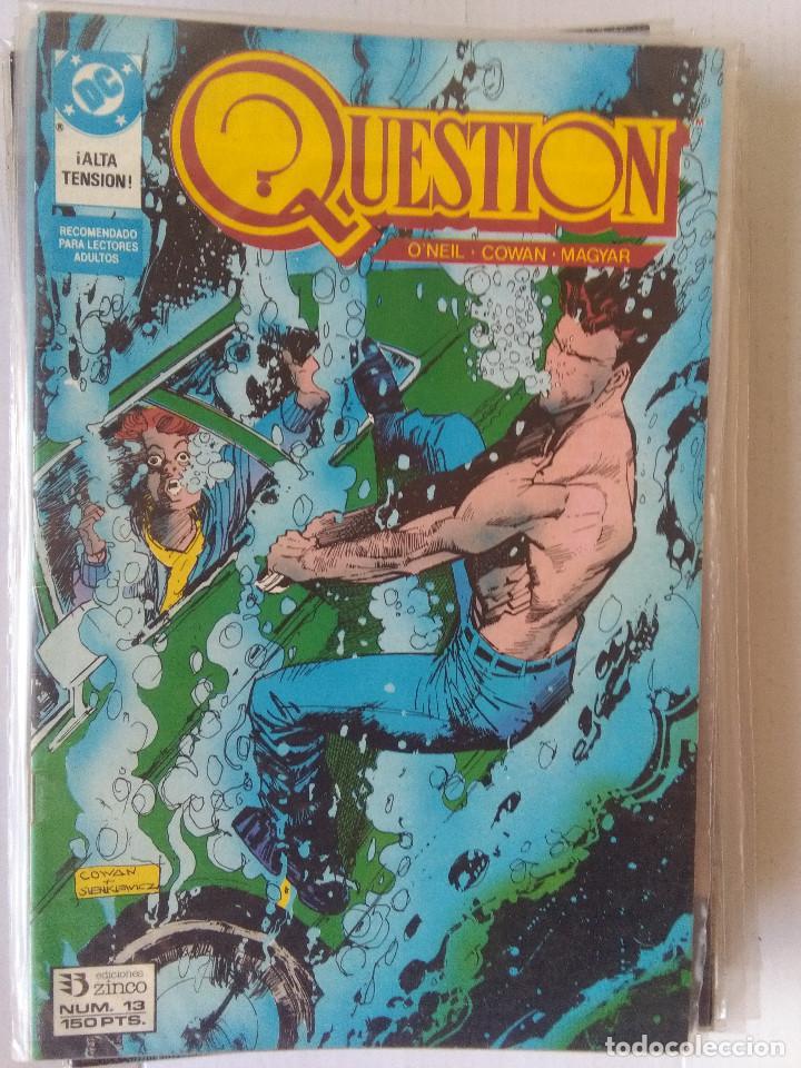 Cómics: QUESTION COMPLETA (1988-1991) 36 NUMEROS (FALTANDO EL 6-17-29) - Foto 14 - 221795796