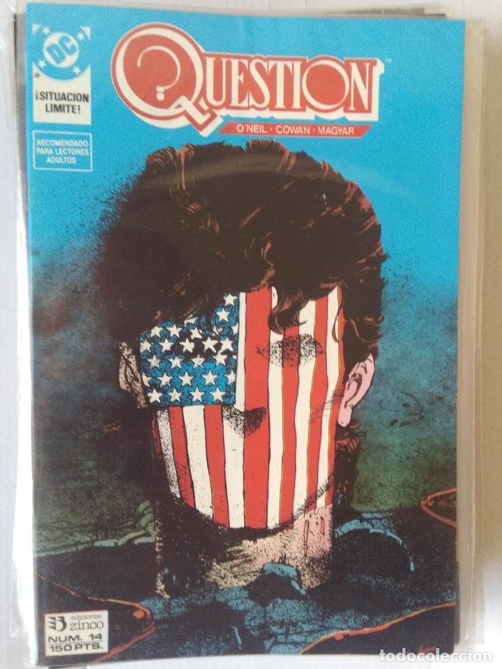 Cómics: QUESTION COMPLETA (1988-1991) 36 NUMEROS (FALTANDO EL 6-17-29) - Foto 15 - 221795796
