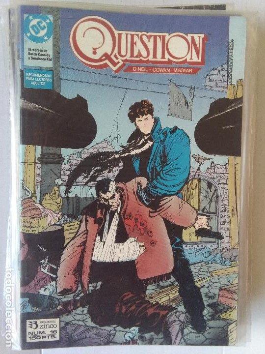 Cómics: QUESTION COMPLETA (1988-1991) 36 NUMEROS (FALTANDO EL 6-17-29) - Foto 17 - 221795796