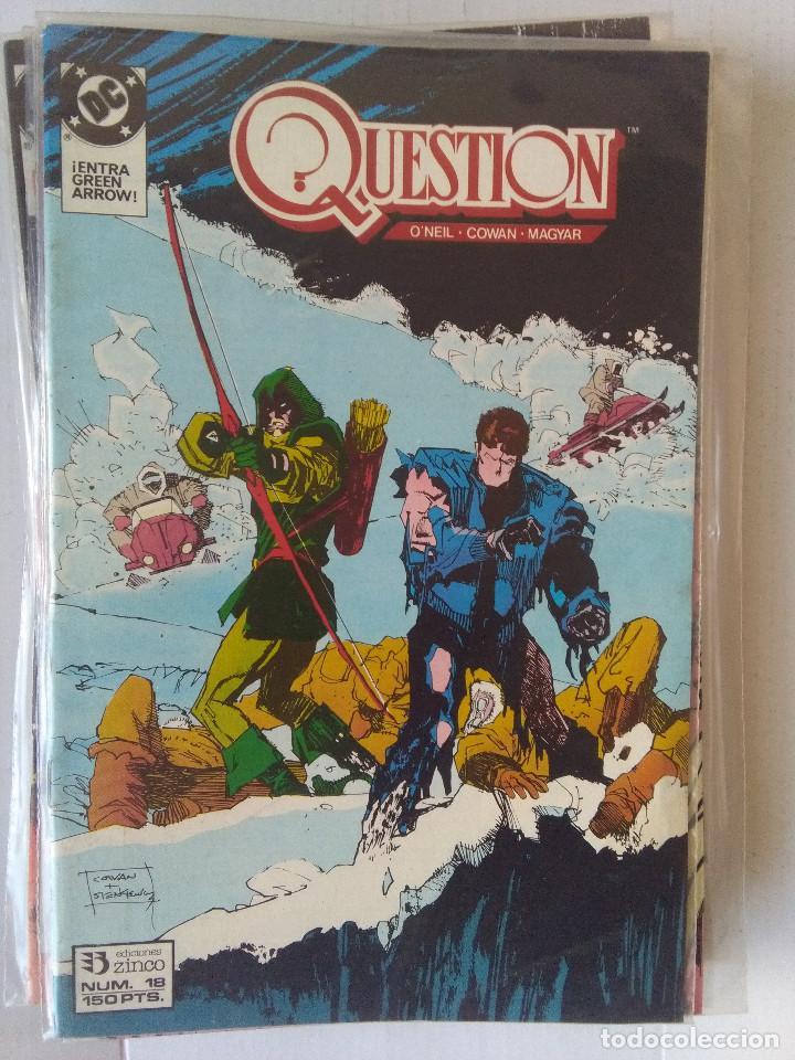 Cómics: QUESTION COMPLETA (1988-1991) 36 NUMEROS (FALTANDO EL 6-17-29) - Foto 18 - 221795796