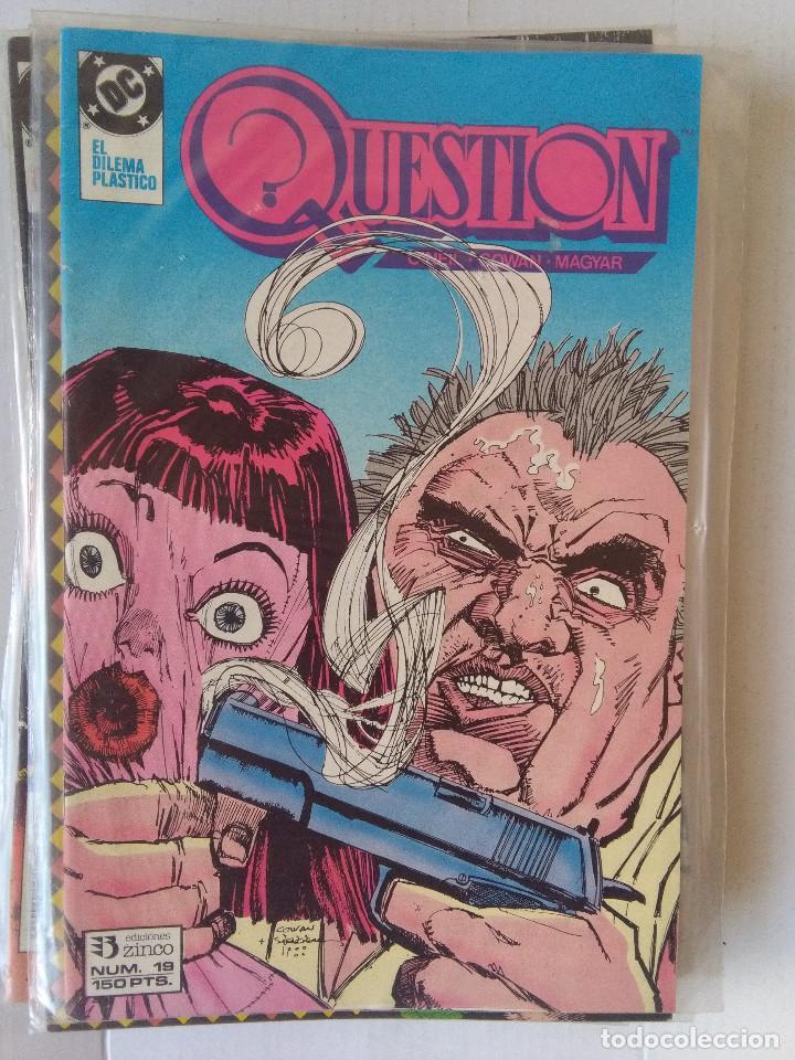 Cómics: QUESTION COMPLETA (1988-1991) 36 NUMEROS (FALTANDO EL 6-17-29) - Foto 19 - 221795796