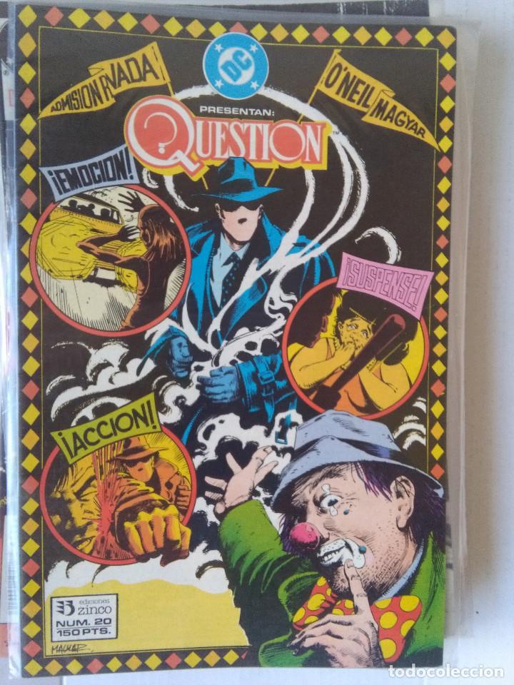 Cómics: QUESTION COMPLETA (1988-1991) 36 NUMEROS (FALTANDO EL 6-17-29) - Foto 20 - 221795796