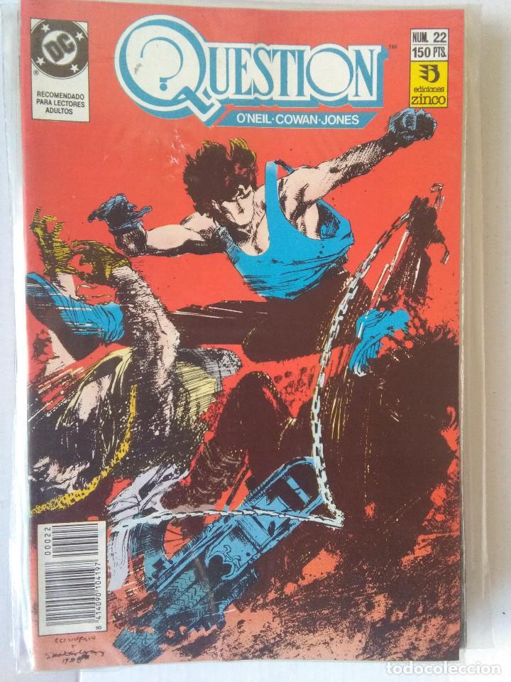 Cómics: QUESTION COMPLETA (1988-1991) 36 NUMEROS (FALTANDO EL 6-17-29) - Foto 22 - 221795796