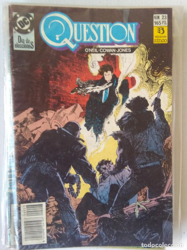 Cómics: QUESTION COMPLETA (1988-1991) 36 NUMEROS (FALTANDO EL 6-17-29) - Foto 23 - 221795796