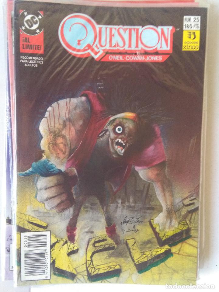 Cómics: QUESTION COMPLETA (1988-1991) 36 NUMEROS (FALTANDO EL 6-17-29) - Foto 25 - 221795796