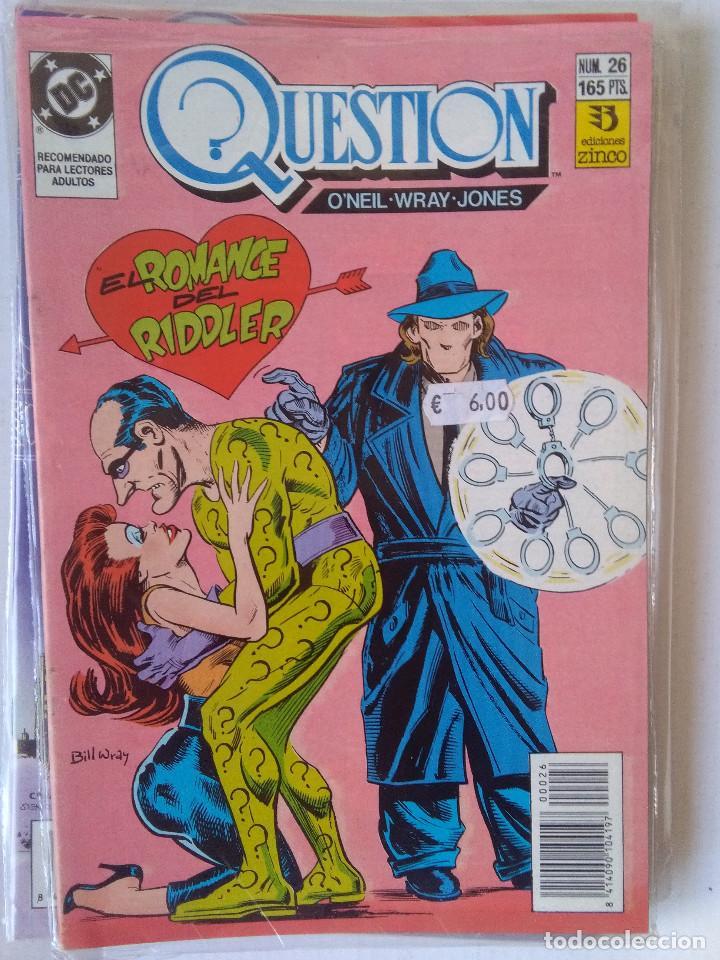 Cómics: QUESTION COMPLETA (1988-1991) 36 NUMEROS (FALTANDO EL 6-17-29) - Foto 26 - 221795796