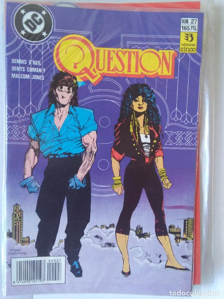 Cómics: QUESTION COMPLETA (1988-1991) 36 NUMEROS (FALTANDO EL 6-17-29) - Foto 27 - 221795796