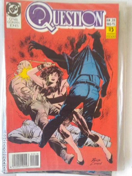 Cómics: QUESTION COMPLETA (1988-1991) 36 NUMEROS (FALTANDO EL 6-17-29) - Foto 28 - 221795796