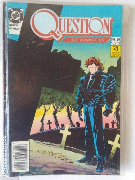Cómics: QUESTION COMPLETA (1988-1991) 36 NUMEROS (FALTANDO EL 6-17-29) - Foto 29 - 221795796