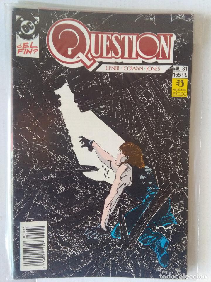 Cómics: QUESTION COMPLETA (1988-1991) 36 NUMEROS (FALTANDO EL 6-17-29) - Foto 30 - 221795796
