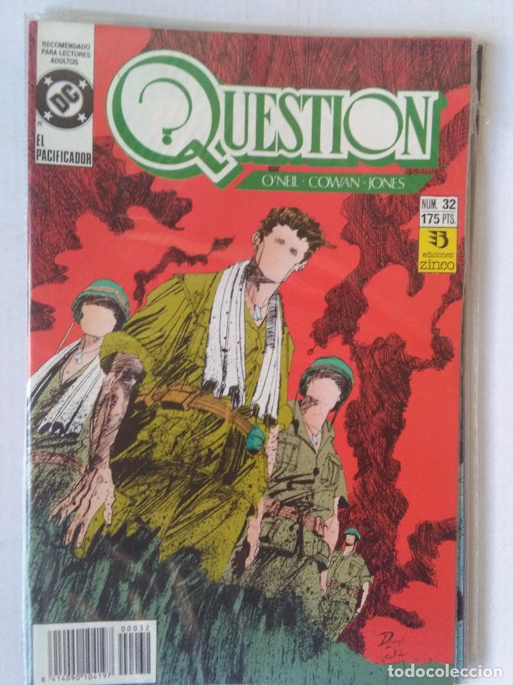 Cómics: QUESTION COMPLETA (1988-1991) 36 NUMEROS (FALTANDO EL 6-17-29) - Foto 31 - 221795796