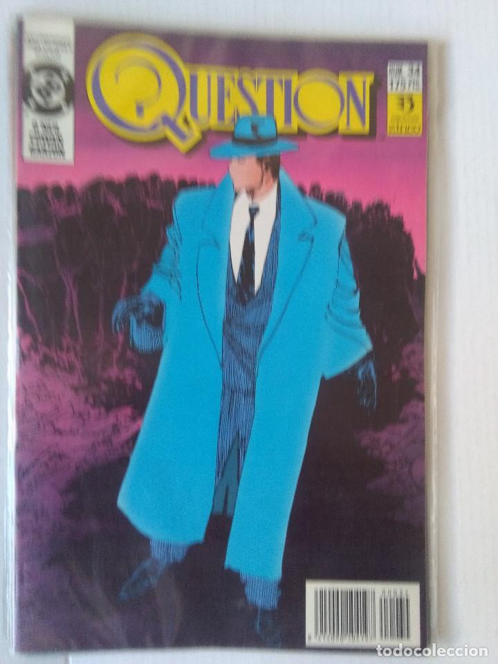 Cómics: QUESTION COMPLETA (1988-1991) 36 NUMEROS (FALTANDO EL 6-17-29) - Foto 33 - 221795796