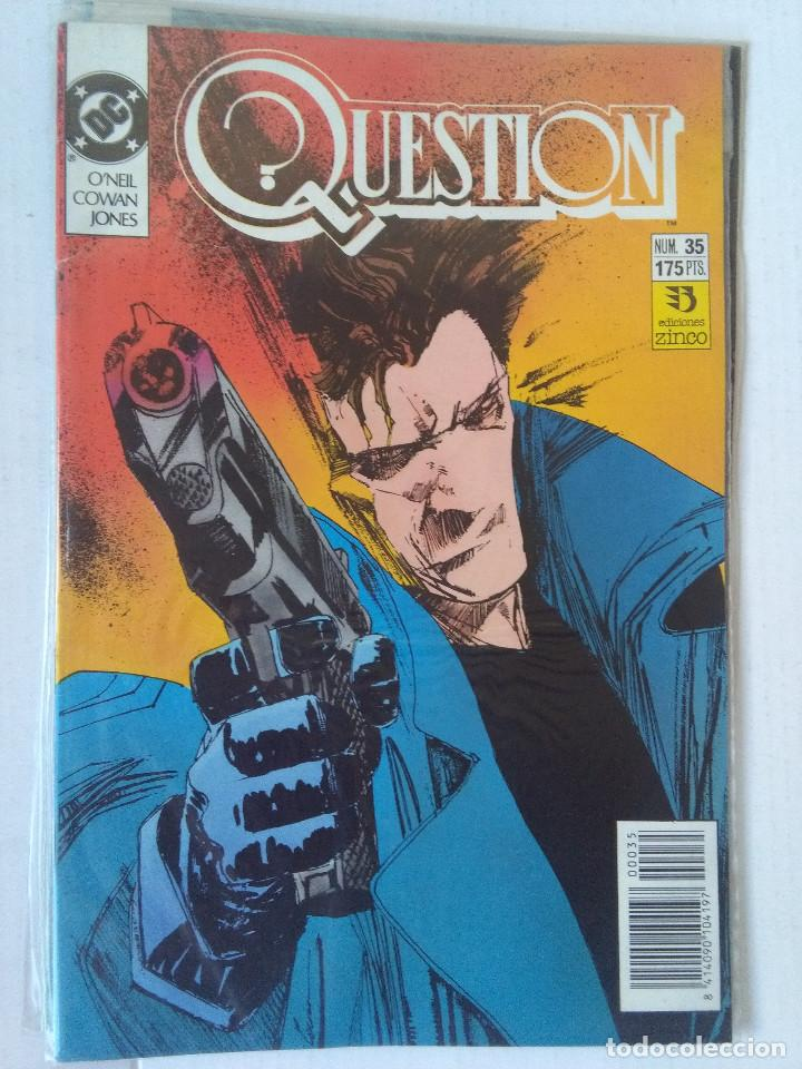 Cómics: QUESTION COMPLETA (1988-1991) 36 NUMEROS (FALTANDO EL 6-17-29) - Foto 34 - 221795796