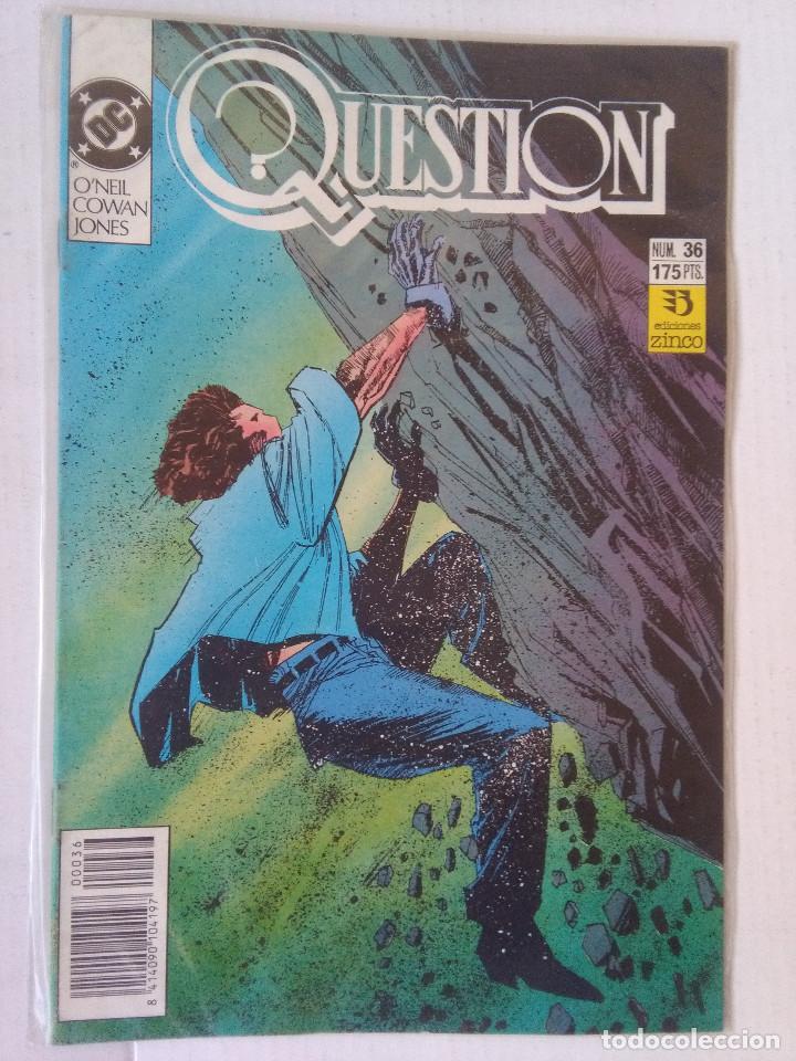 Cómics: QUESTION COMPLETA (1988-1991) 36 NUMEROS (FALTANDO EL 6-17-29) - Foto 35 - 221795796