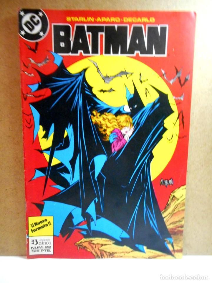 BATMAN Nº 22 : VÍCTIMAS ( ZINCO ) (Tebeos y Comics - Zinco - Batman)