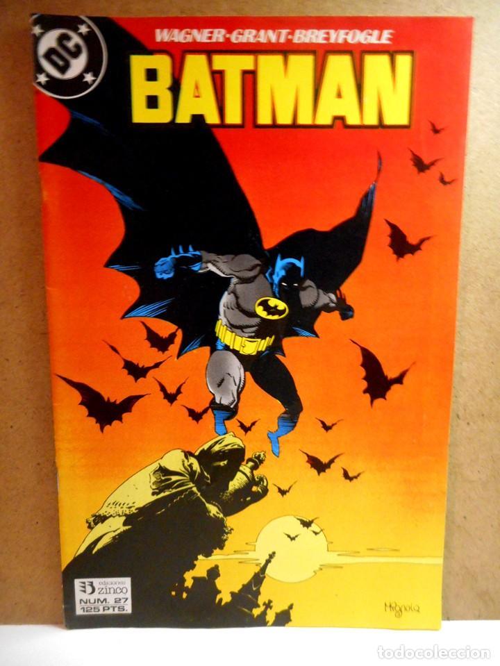 BATMAN Nº 27 : FIEBRE ( ZINCO ) (Tebeos y Comics - Zinco - Batman)