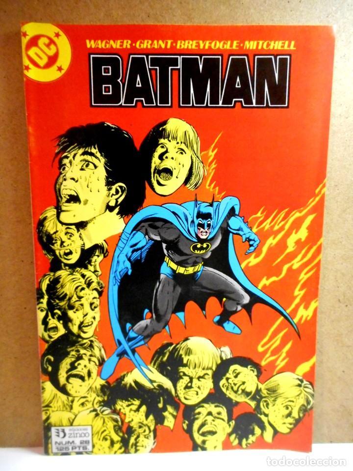 BATMAN Nº 28 : BAJADA DE FIEBRE ( ZINCO ) (Tebeos y Comics - Zinco - Batman)