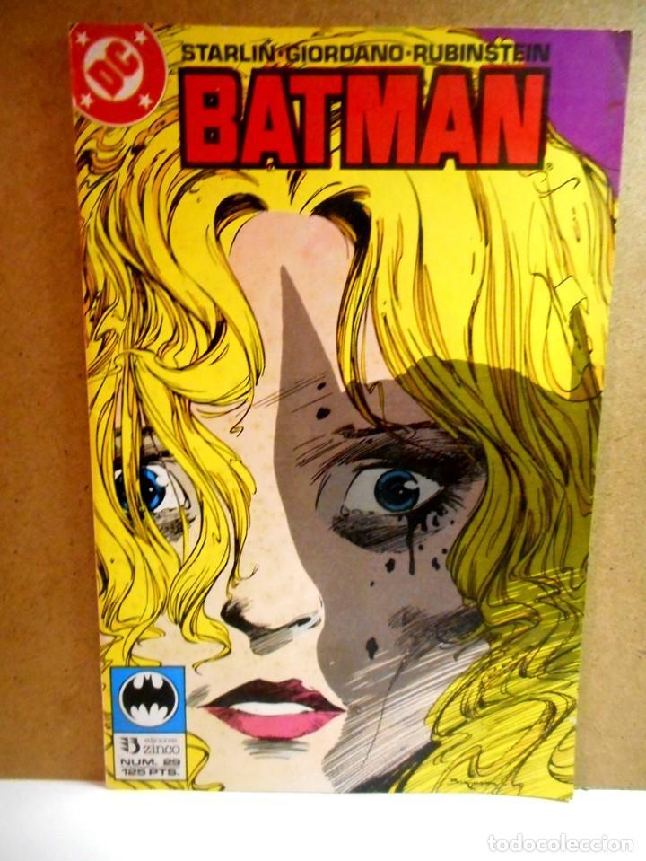 BATMAN Nº 29 : ELMORE Y SU DAMA ( ZINCO ) (Tebeos y Comics - Zinco - Batman)