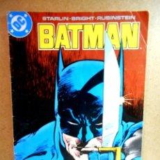 Cómics: BATMAN Nº 30 : LA CAZA ( ZINCO ). Lote 221892603