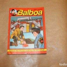 Cómics: BALBOA Nº 4, EDITORIAL ZINCO. Lote 221938675