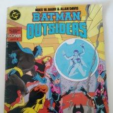 Cómics: COMIC BATMAN OUTSIDERS ES ZINCO N 22. Lote 221980905