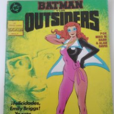 Cómics: COMIC BATMAN OUTSIDERS ES ZINCO N23. Lote 221980912