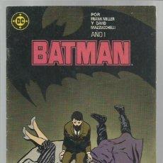 Cómics: BATMAN 1, 1987, ZINCO, BUEN ESTADO. Lote 221984158