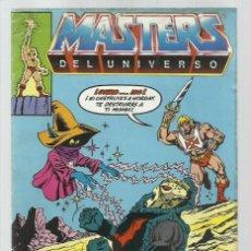 Cómics: MASTERS DEL UNIVERSO 7, 1986, ZINCO, BUEN ESTADO. Lote 221984321