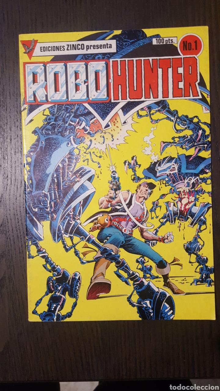 Cómics: Comics - Robo Hunter - ZINCO - 1984 (5 CÓMICS) - Cazador de robots - 1986 (9 números) - MC Ediciones - Foto 2 - 222040162