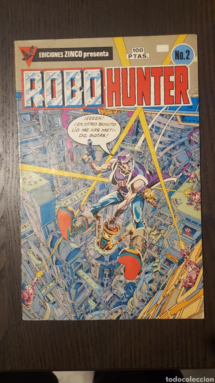 Cómics: Comics - Robo Hunter - ZINCO - 1984 (5 CÓMICS) - Cazador de robots - 1986 (9 números) - MC Ediciones - Foto 3 - 222040162