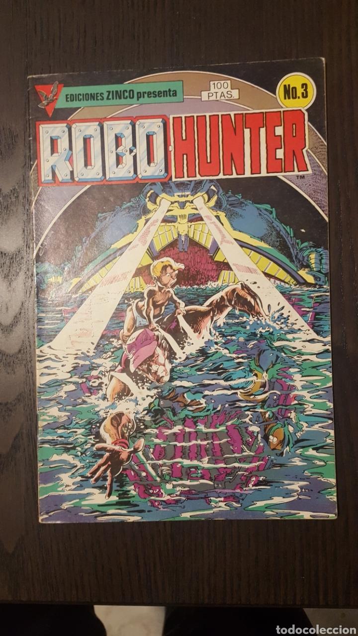 Cómics: Comics - Robo Hunter - ZINCO - 1984 (5 CÓMICS) - Cazador de robots - 1986 (9 números) - MC Ediciones - Foto 4 - 222040162