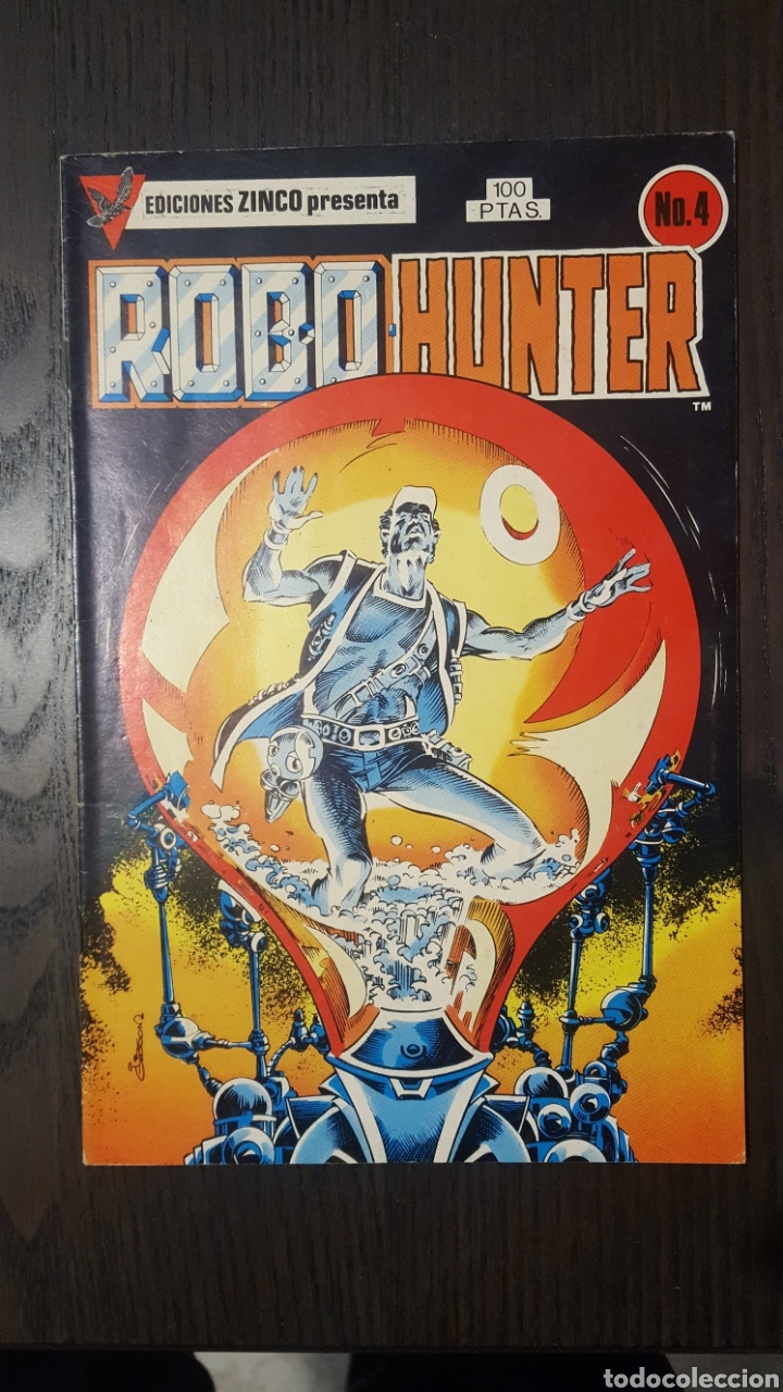 Cómics: Comics - Robo Hunter - ZINCO - 1984 (5 CÓMICS) - Cazador de robots - 1986 (9 números) - MC Ediciones - Foto 5 - 222040162
