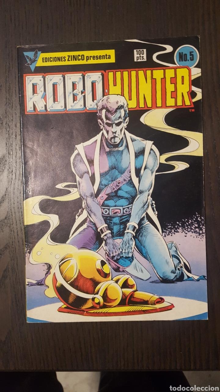 Cómics: Comics - Robo Hunter - ZINCO - 1984 (5 CÓMICS) - Cazador de robots - 1986 (9 números) - MC Ediciones - Foto 6 - 222040162