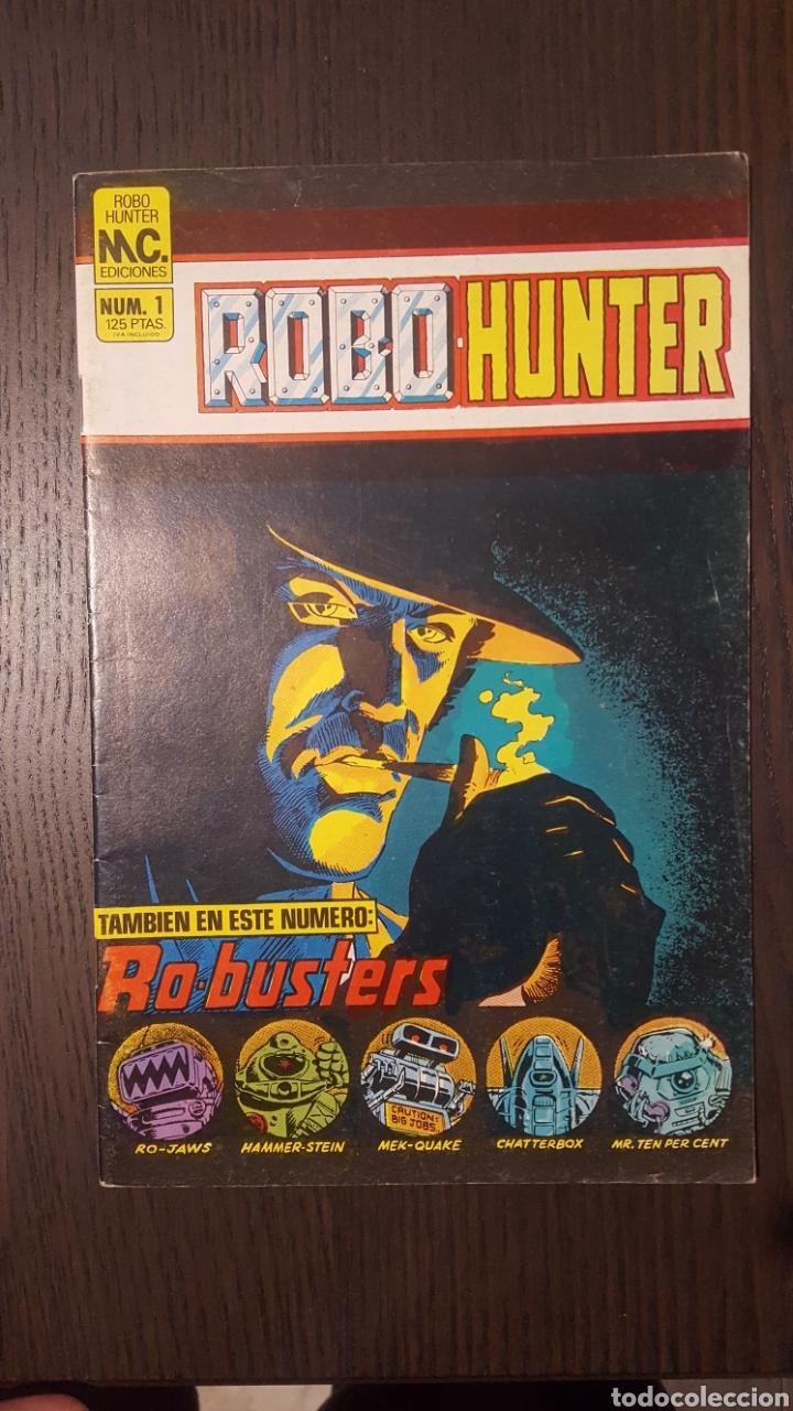 Cómics: Comics - Robo Hunter - ZINCO - 1984 (5 CÓMICS) - Cazador de robots - 1986 (9 números) - MC Ediciones - Foto 7 - 222040162